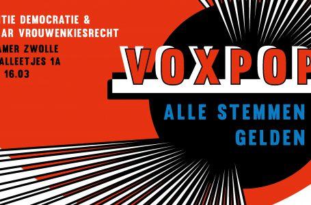 Expositie Voxpop, alle stemmen gelden