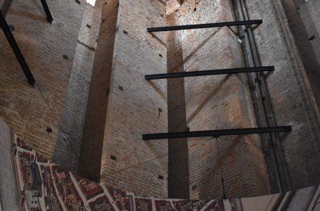 Opstelling Zwolle van Boven op de eerste verdieping van de Peperbus