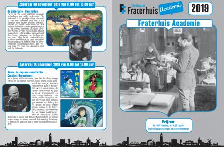 Programma Fraterhuis Academie 2019
